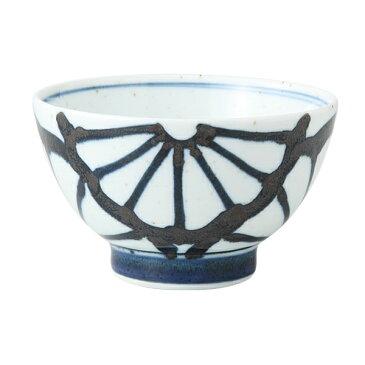 食器 器 碗 茶碗 セット 3客組 おしゃれ 可愛い くらわんか 波佐見焼 磁器 日本製菊紋 くらわんか碗 (青) 3客組 14039
