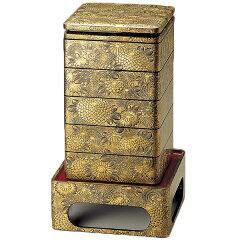 人気のお弁当作りグッズや重箱をピックアップ!重箱 お重 おせち 5段 8.5寸 セット 木製 本堅...