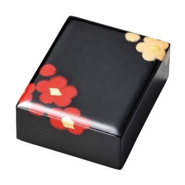箱 ボックス おすすめ おしゃれ ギフト 越前漆器 上品 漆塗 手塗 うるし 漆器 高級 日本製 おしゃれ 文房具 うるし華 ロイヤル箱 黒 10-12505 就職祝い 昇進祝い 合格祝い