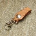 KC,s キーリング ハンドステッチ 5セント アロー(牛皮革)[手縫い][キーホルダー][ベルトループ][KC,s leather craft][ケイシイズ][ケーシーズ][本革][レザークラフト][メーカー取り寄せ/在庫未確定商品][メール便可(160円)]【優れものA】