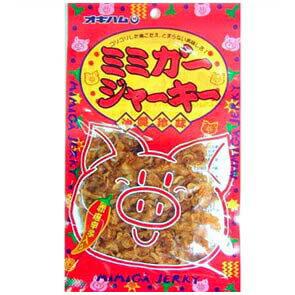 【 沖縄 ミミガー】大人気のミミガーが美味しいジャーキーに!結構いけるコリコリ感!ミミガージャーキー 28g