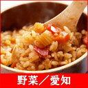 【釜付セット】全国名選陶器本釜めし(野菜/愛知)