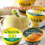 レモン牛乳アイス(6個)+中山かぼちゃアイス(6個) 栃木ご当地アイス詰合せ 栃木 お土産 送料無料