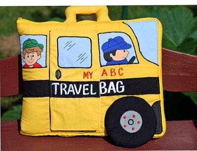 My ABC Travel Bag School Bus