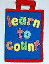 布絵本かずあそびlearn to count New English Version英語刺しゅう版【知能開発レッスンブック】幼児教育選んで!!無料ギフトラッピング