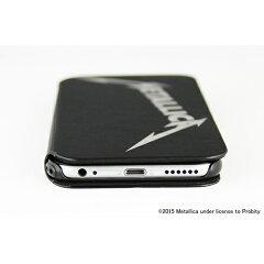 【定形外郵便発送】メタリカiPhone6用PUレザーケースバンドロゴCP-METP6LC1/L1【送料無料】