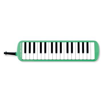 【6年保証】スズキ メロディオン MXA-32G SUZUKI MXA32G グリーン(本体・卓奏歌口・立奏歌口・ケースのセット)【かいめいシール付】鈴木楽器正規特約店!