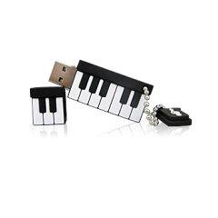 【定形外郵便発送】カナック企画ピアノ型USBメモリSIL-001A4GB【送料無料】