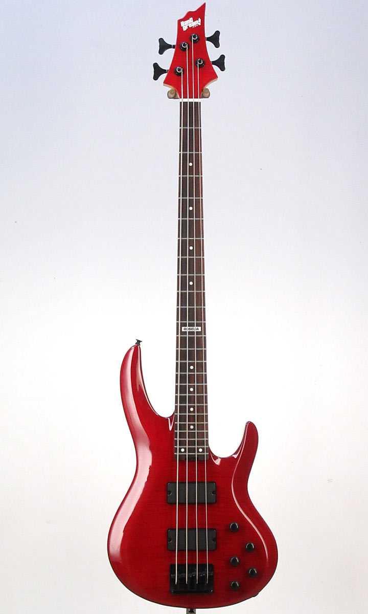 ベース, エレキベース BanG Dream! ESP Collaboration Roselia Model BanG Dream! BTL LISA (See Thru Red)