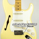 Fender USA Eric Johnson Stratocaster Thinline VWH(selected by KOEIDO)店長厳選、命を持つ別格のEジョンソン・シンライン!フェンダー 光栄堂・・・