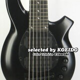 【New】Musicman Bongo6 Stealth Black(selected by KOEIDO)店長厳選、命を持つ別格のボンゴ6!