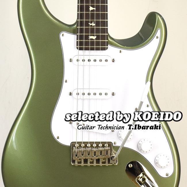 ギター, エレキギター Paul Reed Smith John Mayer Silver Sky J8 Orion Green 2020(selected by KOEIDO)GO KIT