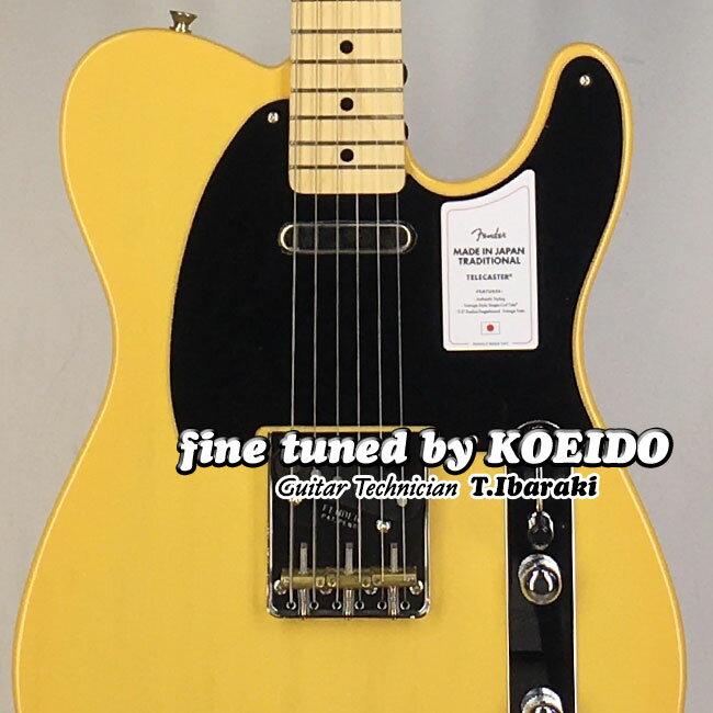 ギター, エレキギター Fender Made in Japan Traditional II 50s Telecaster BTB(Fine Tuned by KOEIDO)