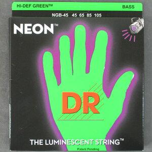 ★インパクト抜群!ネオン弦!DR NEON Bass StringsNBG45 -NEON GREEN-【送料無料】【smtb-tk】