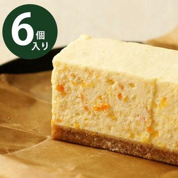 国産オレンジピールのレアチーズケーキ6個入りBOXチーズケーキ専門店コガネイチーズケーキ