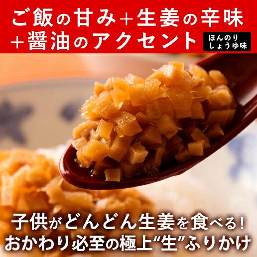 【ゆうパケット送料無料】味付け極しょうが110g|ふりかけご飯のお供酢しょうがおかず生姜万能調味料