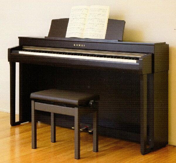 【おこのみレンタル】カワイ電子ピアノ CN39R(プレミアムローズウッド調)