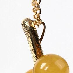 ロイヤルアンバー琥珀ネックレス丸玉イエローアンバーコニャックこはくコハクamberjewelleryjewelryaccessories