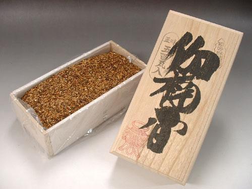 焼香 伽楠香(カナンコウ) 500g 桐箱入:お香・線香・香木の専門店 香源