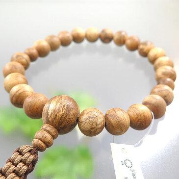 男性用お数珠 マレーシア産 沈香 22玉 共仕立て 紐房