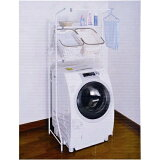 コーナンオリジナル バスケット棚付洗濯機ラック HON21−2823