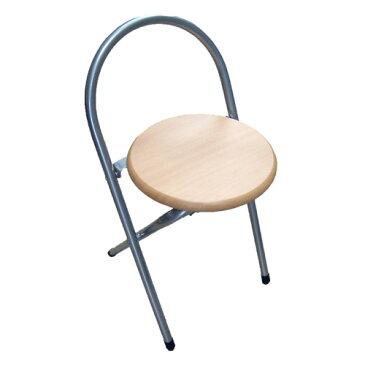 木目調FDチェアー WFC−032−NA パイプイス パイプ椅子 ミーティングチェア 会議イス 会議椅子 パイプチェア パイプ椅子 コーナン 折りたたみ コンパクト【ラッキーシール対応】