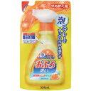 日本合成洗剤 ニチゴー 泡スプレーおふろ洗い 詰替 350ml 1