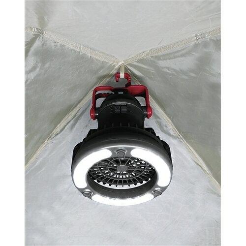 キャプテンスタッグ デザイアー ファン付LEDライトM-5129