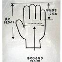 コーナン オリジナル ゴム引き手袋 10双組 ブラック CL680−10P 3