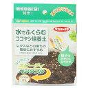 サカタのタネ 水で膨らむココヤシ培養土(袋で育てるはじめてセット)