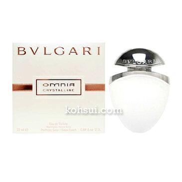 ブルガリ オムニア クリスタリン ジュエルチャーム EDT SP 25ml BVLGARI レディース 香水