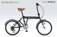 マイパラスクロスバイク26インチ6SPリアサスレッドM-650-2-RD[自転車]