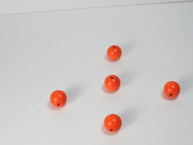 カラー木球20Φ 5ヶ入 オレンジ画像