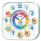 【あす楽対応】セイコークロック 知育時計 お子様 掛け時計 置き時計 ドラえもん CQ319W
