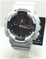 国内正規【対応】G-SHOCKレッドカラーデジタルアナログコンビGA-100L-7AJF