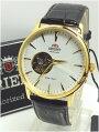 日本製【あす楽対応】オリエント自動巻き機械式腕時計メンズレザーバンドSDB08003W0