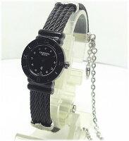 【対応】CHARRIOL(シャリオール)腕時計St.TROPEZ(サントロペ)ブラックミニ20B.525.005