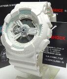 【あす楽対応】G-SHOCK ホワイトデジタル アナログコンビ GA-110BC-7AJF