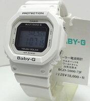 【対応】カシオCASIOBaby-G電波ソーラーBGD-5000-7JF