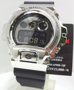 【あす楽対応】カシオG-SHOCKメタルカバード耐衝撃構造GM-6900-1JF