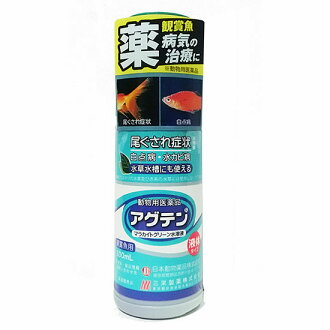 魚病醫學獸醫醫藥產品日本動物化學孔雀石綠溶液為十 100 毫升 1 t