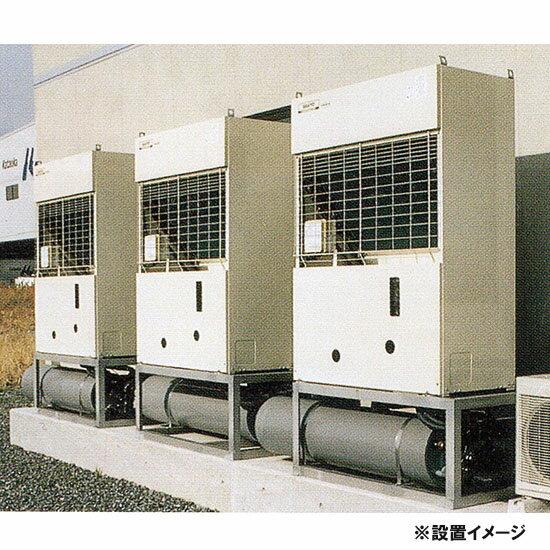 冷却水量11000Lまでニットー クーラー NT-3750 室外型(空冷式)冷却機(日本製)三相200V標準型 架台:SS材 亜鉛どぶめっき【同梱不可  北海道・沖縄・離島は別途】【♭】