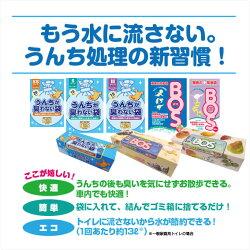 うんちが臭わない袋BOSペット用SS100枚【マナーポーチウンチ処理袋消臭】
