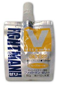おいしくビタミン補給ファイトマンゼリービタミン補給 グレープフルーツ味 180g 30個セット