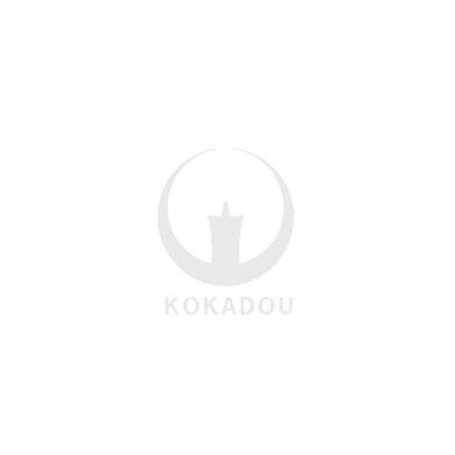 【送料無料】【盆提灯】【20%オフ】住吉提灯特撰まどか8番■紙製/紙張・レース[月に桔梗]■高さ92cm×火袋径(幅)25cm{ASN}