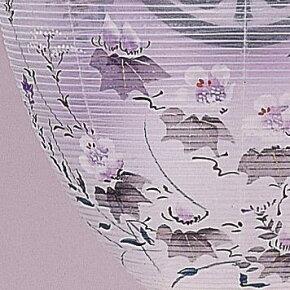 【送料無料】家紋入り提灯(ちょうちん)天上嵯峨野紫檀家紋入り木製