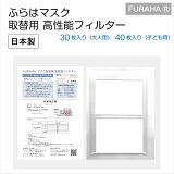 マスクフィルター (30枚入り・40枚入り)日本製 マスクシート 不織布フィルター FURAHA ふらは マスク フィルター 飛沫防止 ウィルス対策 PM2.5対策マスク 0.1ミクロン捕集 高機能マスクフィルタ ホワイトビューティー