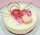 ★ハートのショコラブラン★ホワイトチョコレートと木苺のムース...