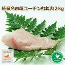 【送料無料】【名古屋コーチン】名古屋コーチンむね肉2kg【RCP】10P03Dec16