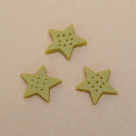 3D Sweets parts星クッキー(3個入)